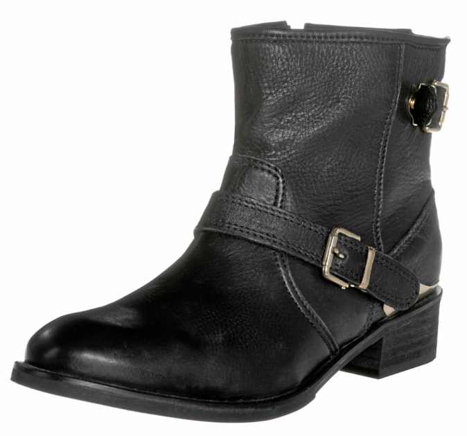 Boots motarde, Kiomi chez Zalando, 120€