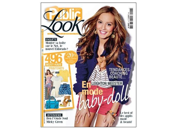 Toutes les tendances du printemps 2011 sont dans le magazine Public Look !