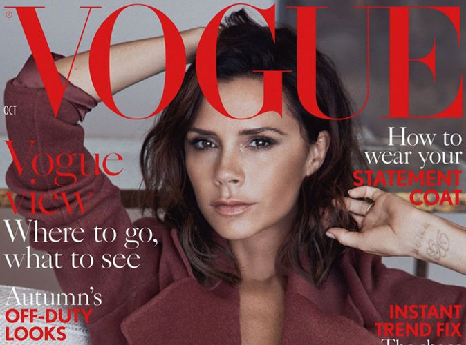 Victoria Beckham : magistrale en couverture de Vogue UK !