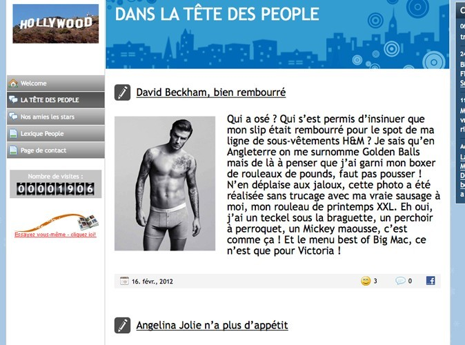 Web : dans la tête des people !