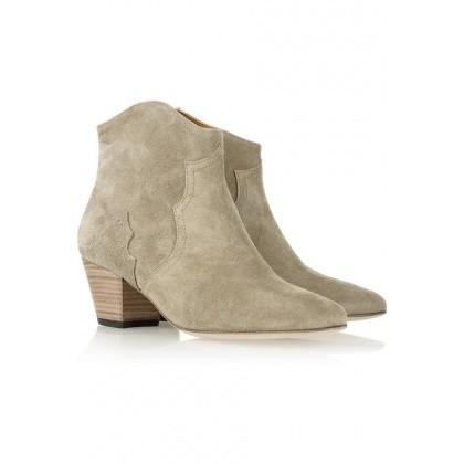 Boots en nubuck, Isabel Marant