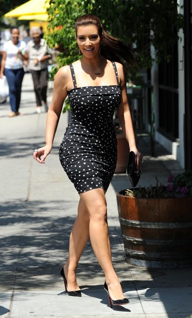 Kim Kardashian en Dolce & Gabbana