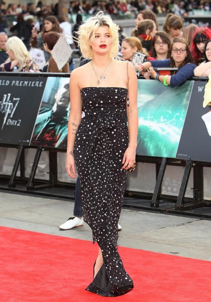 Pixie Geldof en Dolce & Gabbana