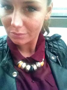 Aurélie Van Daelen sur Twitter en avril 2013