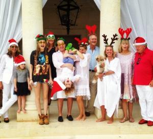 Cara Delevingne et sa famille fêtent Noël à La Barbade