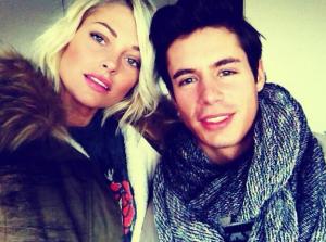 Caroline Receveur et Valentin