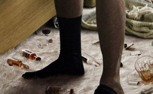 Chaussettes de Johnny Depp