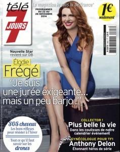 Elodie Frégé télé 7 jours