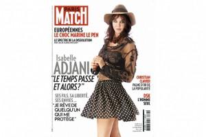 Isabelle Adjani Paris Match