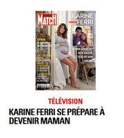 Karine Ferri couverture Paris Match