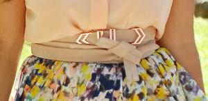 La ceinture de Kourtney Kardashian