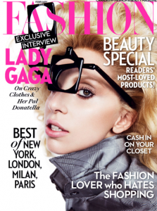 Lady Gaga couverture Fashion Magazine