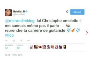 nabilla tweet christophe hondelatte