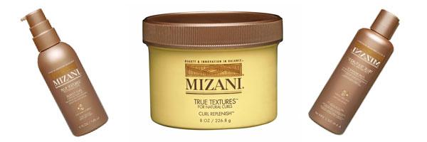 Produits Mizani pour cheveux ethniques