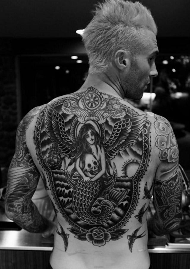 Tatouage-Adam-Levine