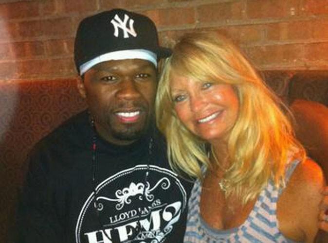 50 Cent : il s'est offert un tête-à-tête avec l'actrice Goldie Hawn, la maman de Kate Hudson !