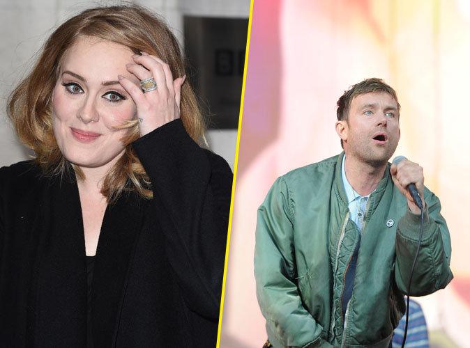 """Adele : """"Je regrette d'avoir travaillé avec Damon Albarn"""""""