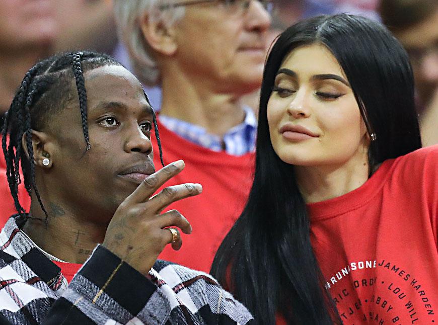 Surprise ! Kylie Jenner est enceinte de son premier enfant avec Travis Scott
