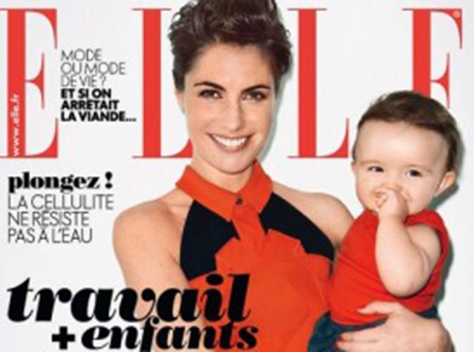 Alessandra Sublet : en couverture du Elle avec sa fille Charlie !