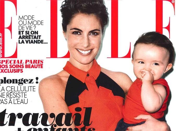 """Alessandra Sublet : """"Mon boulot ne m'a jamais procuré les mêmes joies que mon bébé"""" !"""