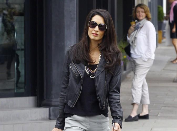 Amal Alamuddin : la fiancée de George Clooney enceinte ? Elle répond !
