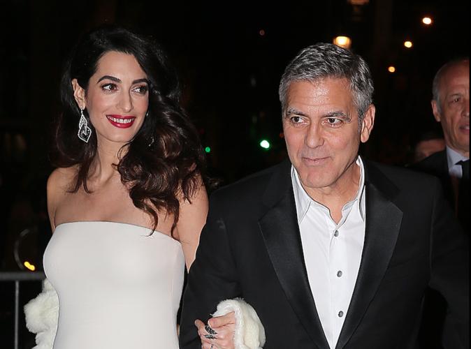 Amal Clooney : Accouchement imminent !