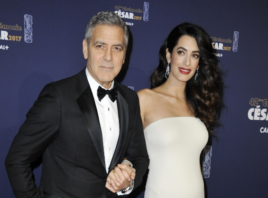 Amal et George Clooney : Les premières photos des jumeaux Ella et Alexander !