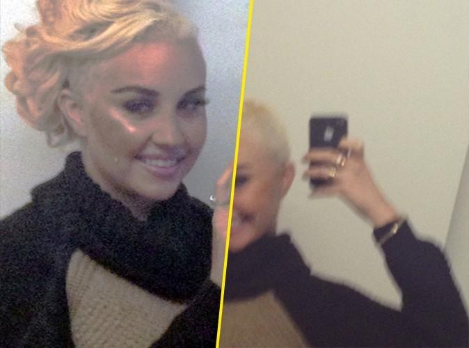 Amanda Bynes : elle se rase le crâne et affiche un nouveau style capillaire !