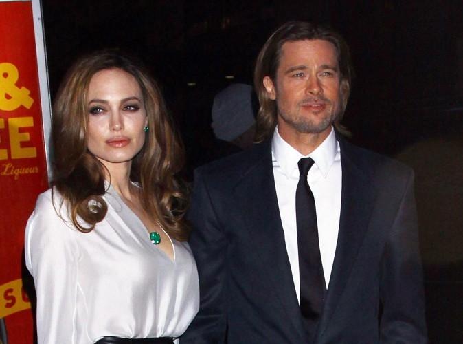 Angelina Jolie : Brad Pitt l'a trouvée seule, en train de pleurer sous la douche !