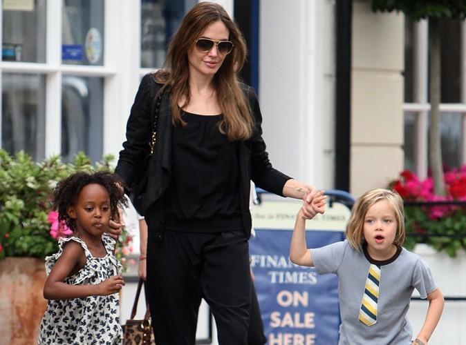 Angelina Jolie : de plus en plus girly, ses filles se font percer les oreilles !