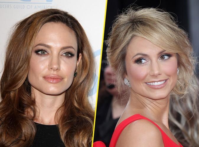 Angelina Jolie : elle ignore complètement Stacy Keibler, la chérie de George Clooney !