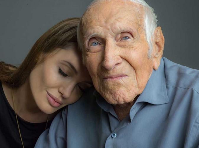 Angelina Jolie : elle pleure la perte de Louis Zamperini, l'homme qui a inspiré son prochain film !