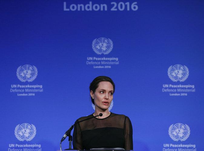 Angelina Jolie : Elle réalise un discours fort et courageux aux Nations Unies.