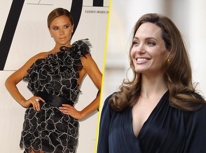 Angelina Jolie : envisagée pour jouer Victoria Beckham au cinéma ?