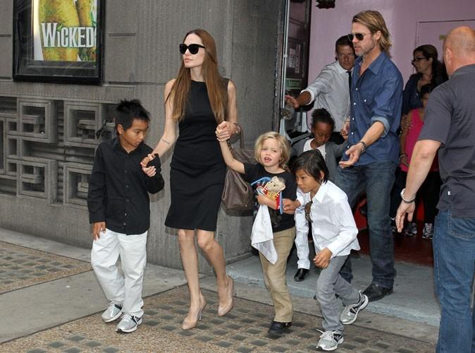 Angelina Jolie et Brad Pitt : leurs enfants vont aller à l'école à Londres !