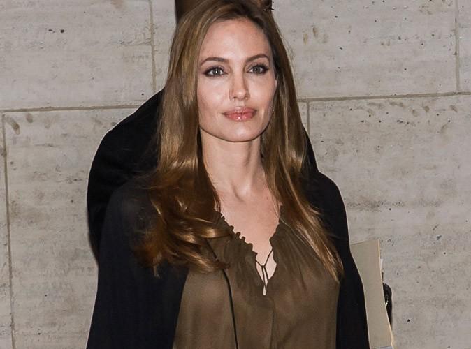 """Angelina Jolie : """"J'ai subi  une double mastectomie préventive"""""""