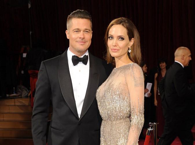 Angelina Jolie : prise en flagrant délit de pelotage de fesses de Brad Pitt !