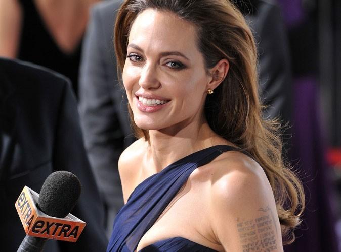 Angelina Jolie : reconnaissante que son film soit nommé aux Golden Globes !