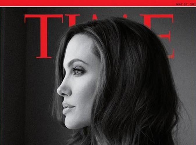 Angelina Jolie : spectaculaire et inspirante en Une de Time Magazine, après sa double mastectomie !