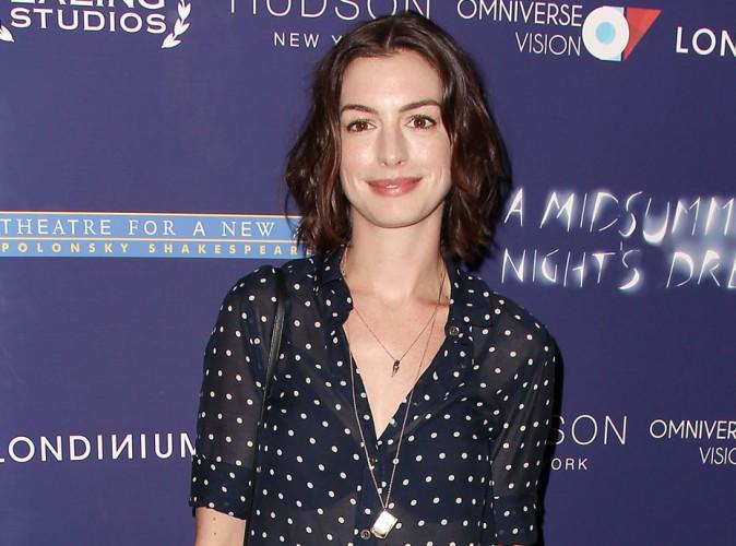 Anne Hathaway : Moquée dans un film, elle n'apprécie pas !