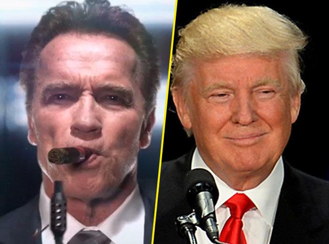 Arnold Schwarzenegger : Terminator prend la place de Donald Trump !