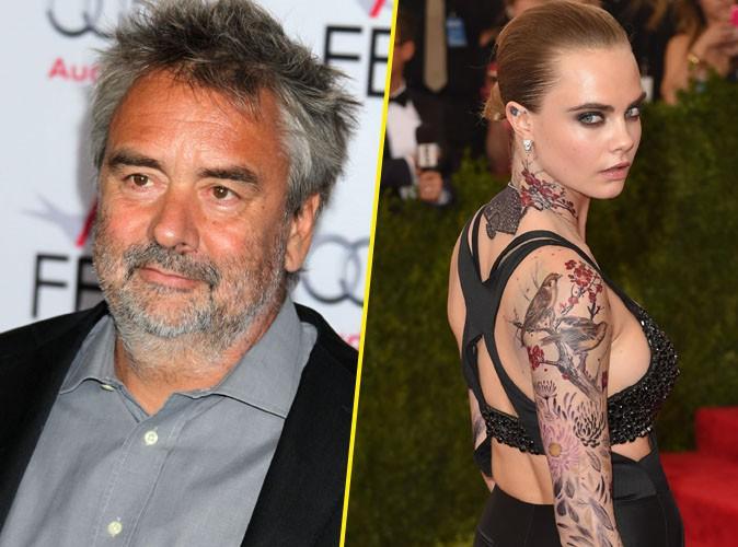 Arrivée fracassante de Luc Besson sur Twitter... Il recrute Cara Delevingne pour son prochain film !