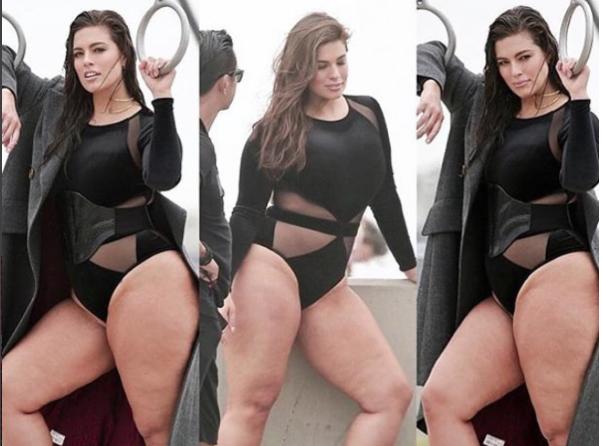 Ashley Graham : Trop grosse ? Elle enrage et répond !