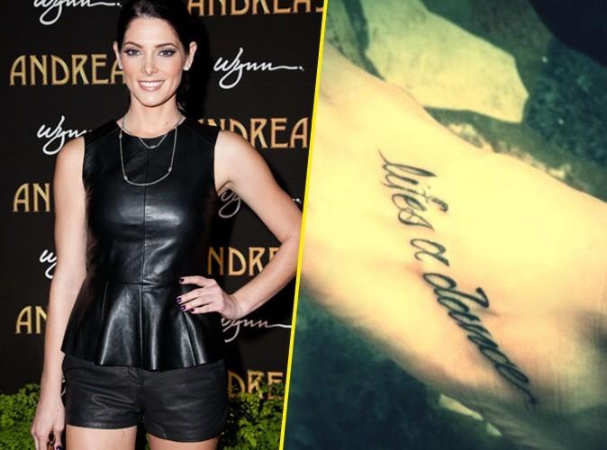 Ashley Greene : découvrez son nouveau tatouage !
