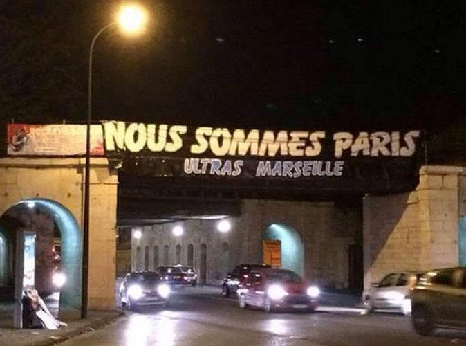 Attentats de Paris : L'hommage fort des supporters marseillais
