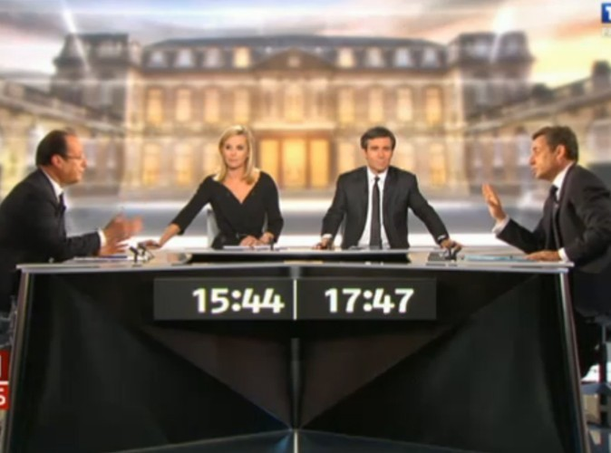Audiences télé : 17 millions de français devant le débat du second tour !
