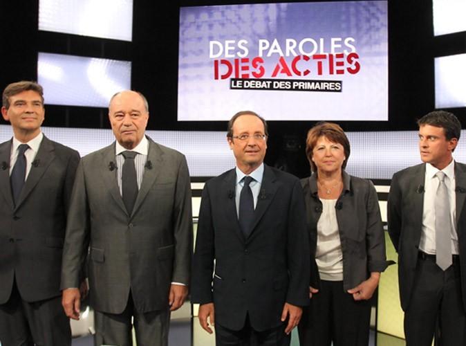 Audiences télé : France 2 leader avec le débat des primaires socialistes !