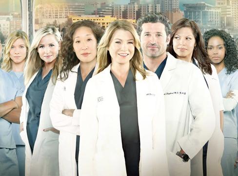Audiences télé : Grey's Anatomy en tête !