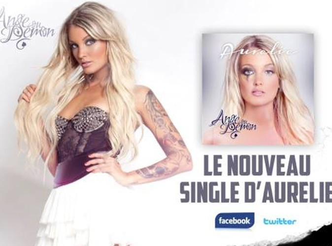 """Aurélie Dotremont : elle dévoile un extrait de son single """"Ange ou démon"""" !"""
