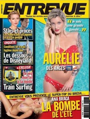 """Aurélie (Les Anges) : """"Grande gueule"""" mais pas farouche pour la une d'Entrevue !"""